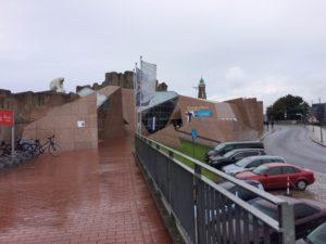 Der Eingang zum Zoo am Meer Bremerhaven